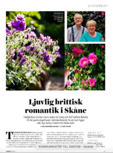 Min drömträdgård – Reportage